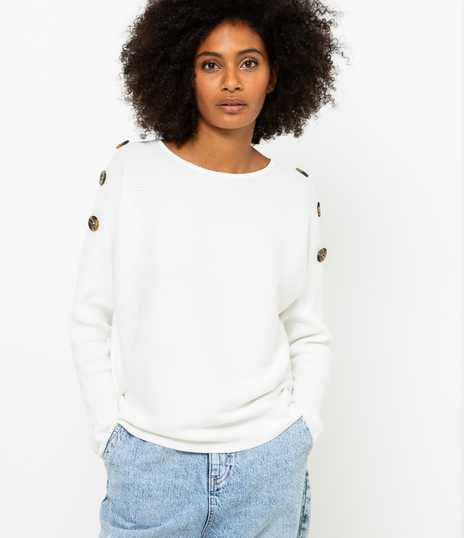 Pull femme maille Ottoman