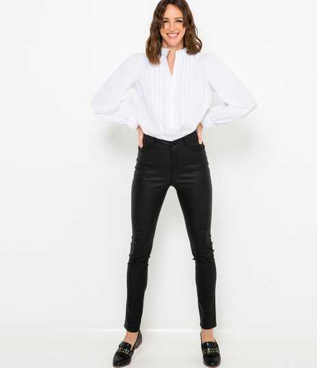 Pantalon slim push up femme