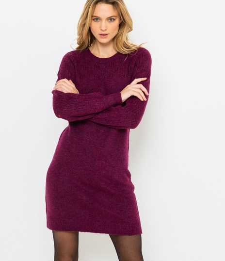 Robe pull laineuse