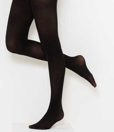 Collants noirs opaques