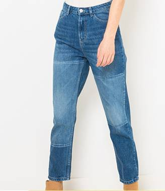 Jean mom patchs